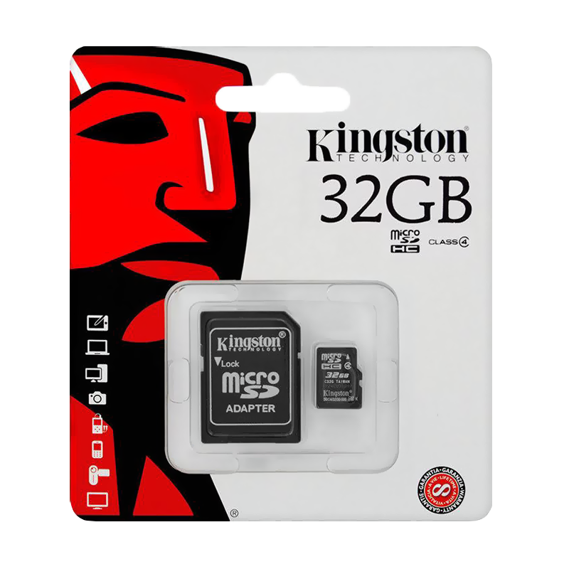 Карта памяти micro SDHC Kingston 32 Гб Class 10 U1 UHS-I черная карта памяти micro sdhc sony sr8uy3at