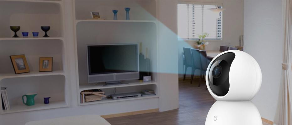 Mi Home Security Camera 360 датчик движения