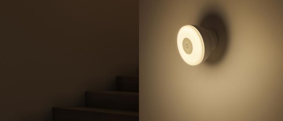 Mi Motion-Night Advancer Lamp 2 режимы освещения