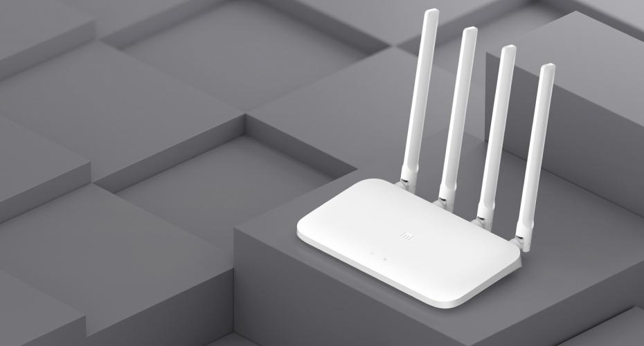 Mi Router 4A внений вид