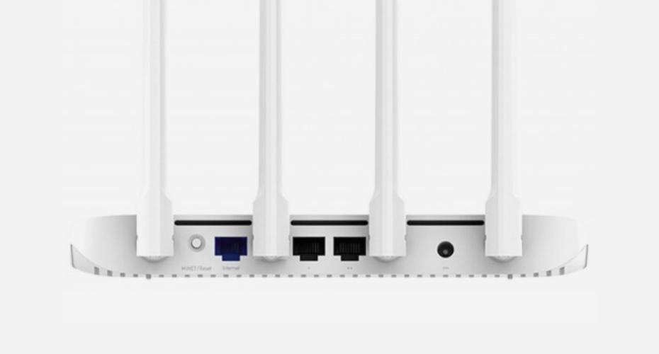 Входы и разъемы Mi Router 4A