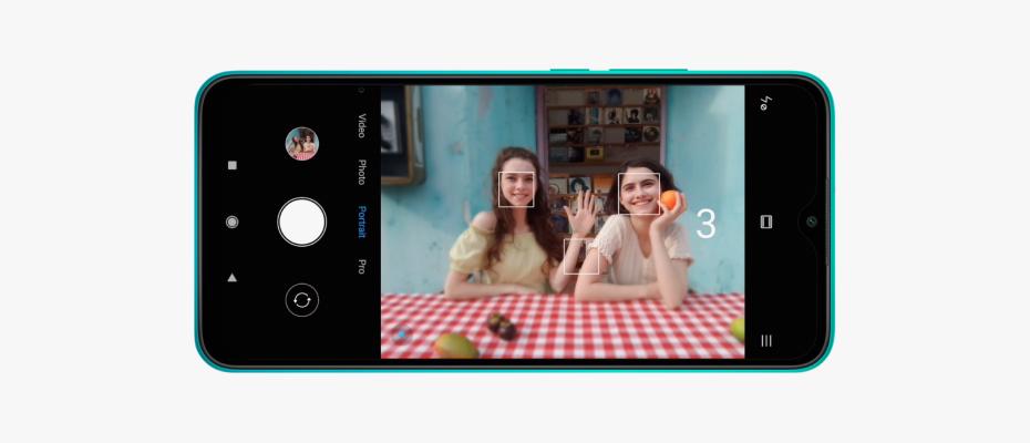 Redmi 9 NFC управление жестами