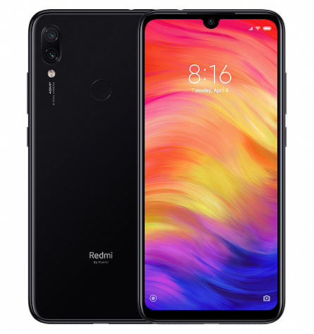Redmi Note 7 4/64GB (черный)