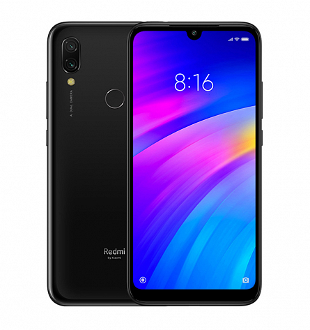 Redmi 7 2/16GB (черный)