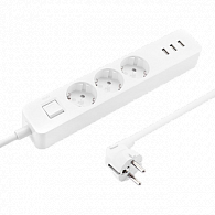 Mi Power Strip 3 USB (белый)