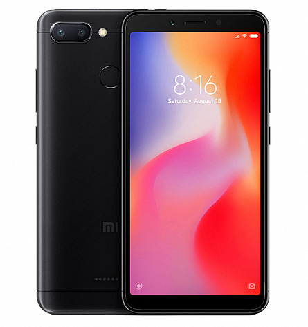 Redmi 6 3/64GB (черный)