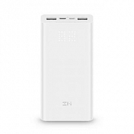 Power Bank QB821 20000 (белый)