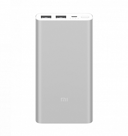 Mi Power Bank 2S 10000 (серебристый)
