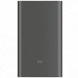 Mi Power Bank Pro 2 10000 мА*ч (серый)