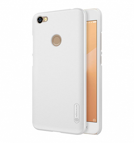 Nillkin Super Frosted Shield для Xiaomi Redmi Note 5A Prime (белый)